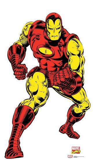 Iron Man Marvel Comics Lifesize Standup Cardboard