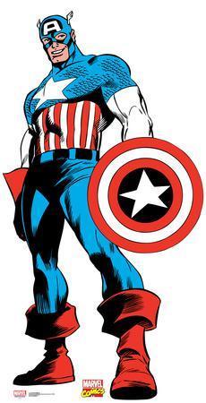Captain America - Marvel Comics Lifesize Standup