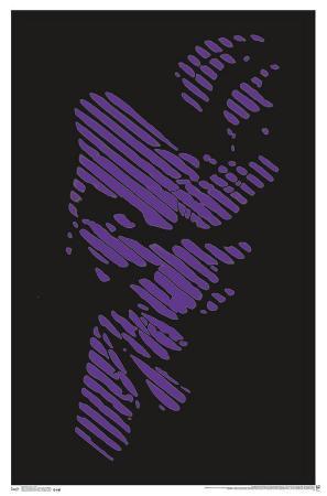 Joker Blacklight Poster