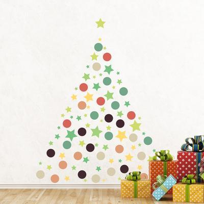 Christmas Stars & Dots
