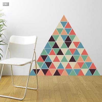 Christmas Triangles - 54 Pieces