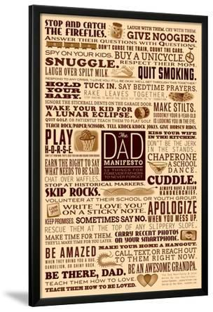 Dad Manifesto- 52 Things Not To Forget