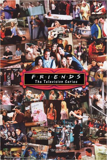 friends collage posters at allposters com