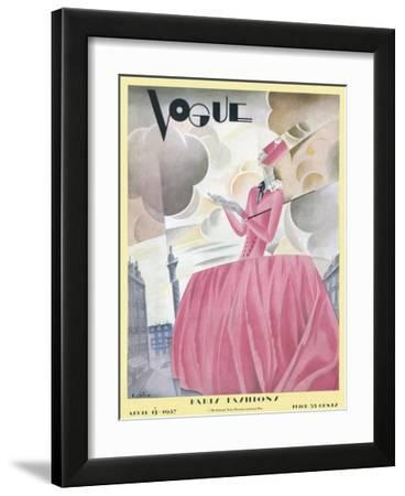 Vogue Cover - April 1927