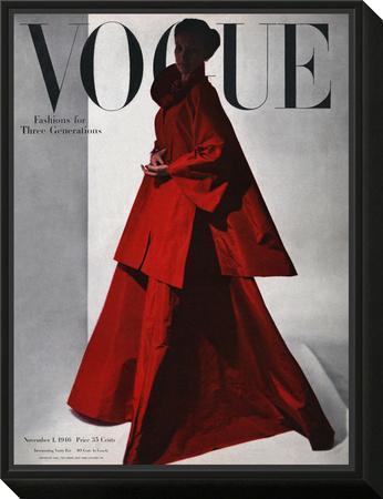 Vogue Cover - November 1946