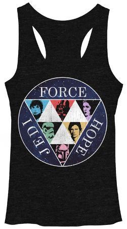 Juniors Tank Top: Star Wars- Force Hope Jedi