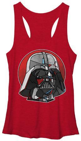 Juniors Tank Top: Star Wars- Kaleidoscope Darth Vader