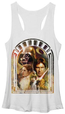 Juniors Tank Top: Star Wars- Doorway to Destiny