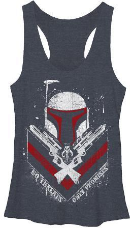 Juniors Tank Top: Star Wars- Only Promises