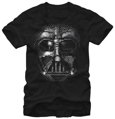 Star Wars- Vader Pixel Close-up