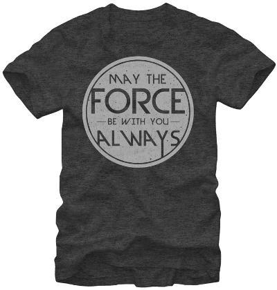 Star Wars- Force Quote Round Logo
