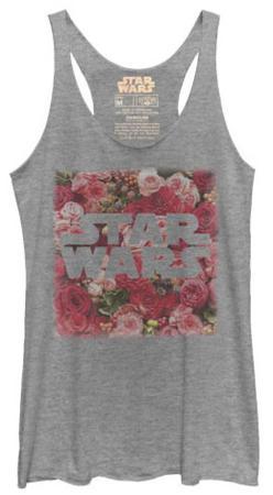 Juniors Tank Top: Star Wars- Rosey Logo