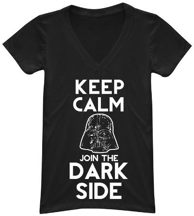 Women's: Star Wars- Join the Dark Side V-Neck