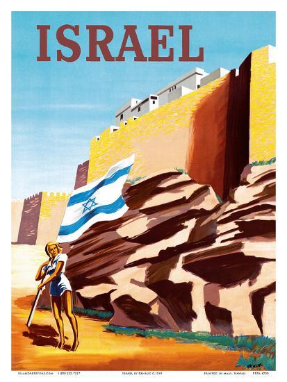 Httpwww Overlordsofchaos Comhtmlorigin Of The Word Jew Html: Zionist Heroic Girl Holding Israeli Flag