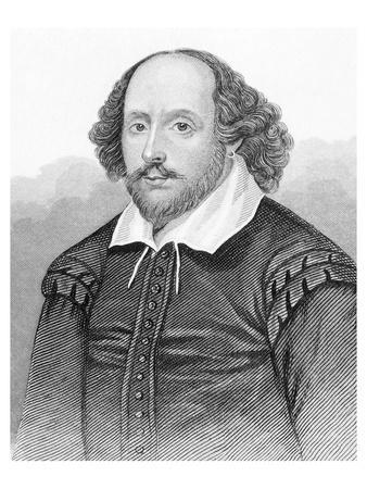 Shakespeare Portrait Engraving