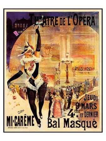 Theatre De L'Opera Bal Masque