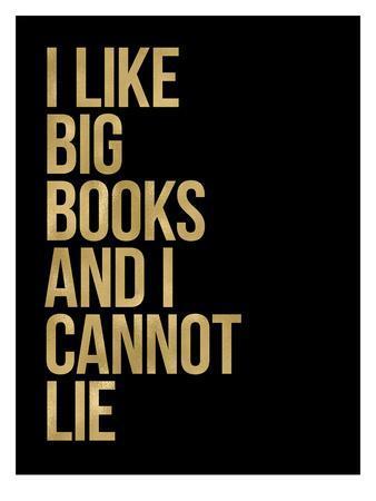 I Like Big Books Golden Black
