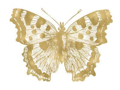Butterfly 1 Golden White
