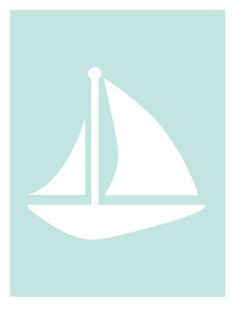 Mint Sailboat