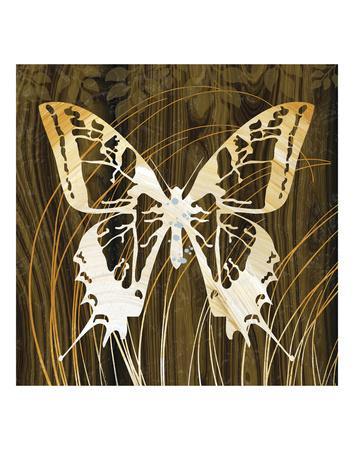 Butterflies & Leaves I