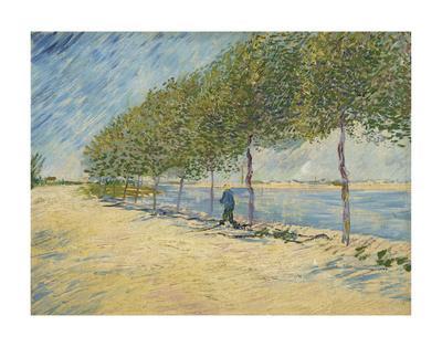 Road Along the Seine near Asnieres, 1887