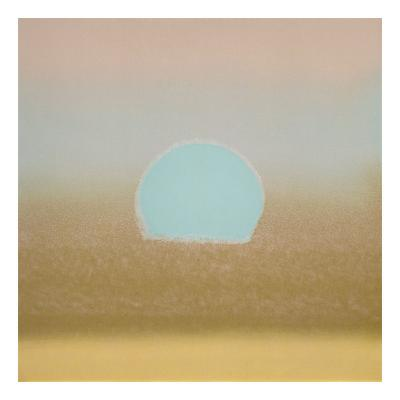 Sunset, 1972 (gold, blue)