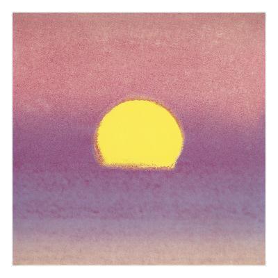 Sunset, 1972 (lavender)