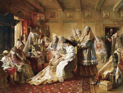 The Russian Bride's Attire, 1889