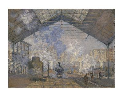The Saint-Lazare Station, 1877