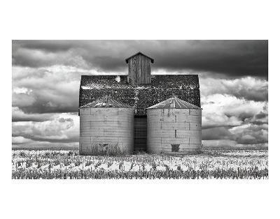 Two Corn Cribs