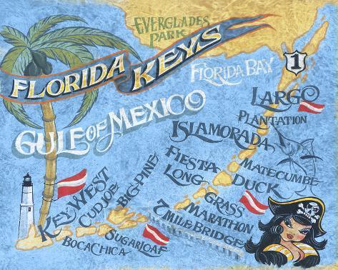 photograph regarding Printable Map of Florida Keys named Florida Keys Beach front Map