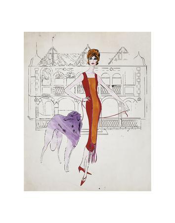 Female Fashion Figure, c. 1959