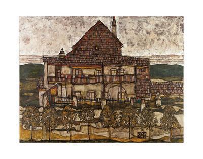 House with Shingle Roof (Old House II), 1915