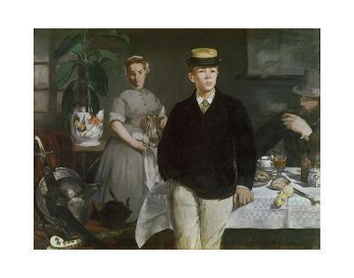 Luncheon in the Studio, 1868