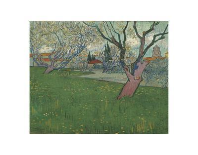 Orchards in Blossom, view of Arles, 1889
