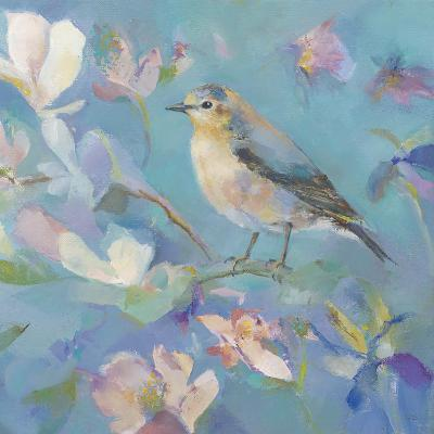 Birds in Magnolia - Detail II