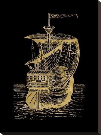Ship 1 Golden Black