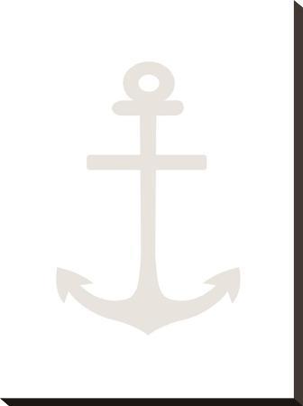 Beige White Anchor
