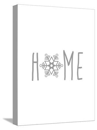 Gray Home Snowflake