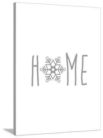 Gray Home Snowflake