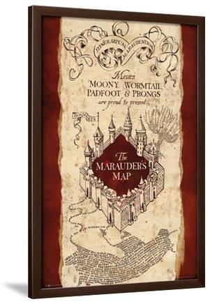 Harry Potter- Marauder\'s Map Posters at AllPosters.com