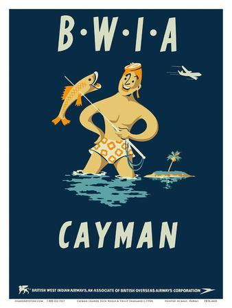 Cayman Islands - British West Indies Airways BWIA