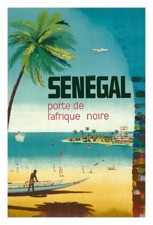 Senegal, Africa - Porte de L'Afrique Noire (Gateway to Sub-Saharan Africa)