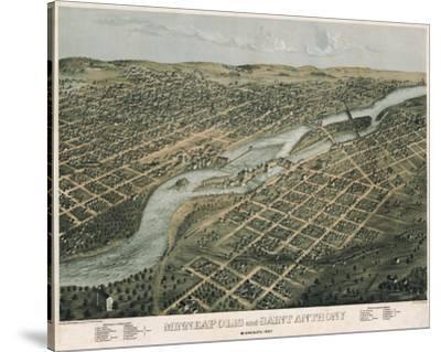 Minneapolis and Saint Anthony, Minnesota, 1867