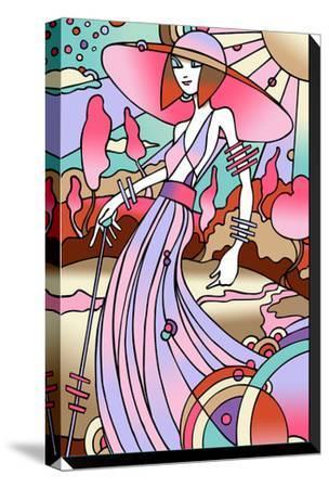 Art Deco Lady Stroll