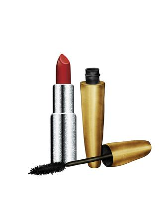 Lipstick & Mascara