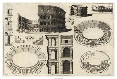 Diagram of the Colosseum