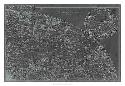 Map of Paris Grid II