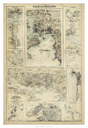 Map of the Coast of England I