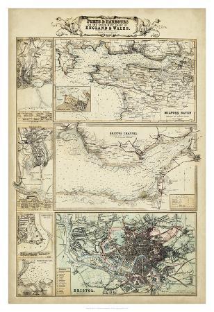 Map of the Coast of England II